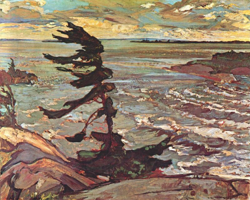 F.H. Varley, Stormy Weather, Georgian Bay, 1921