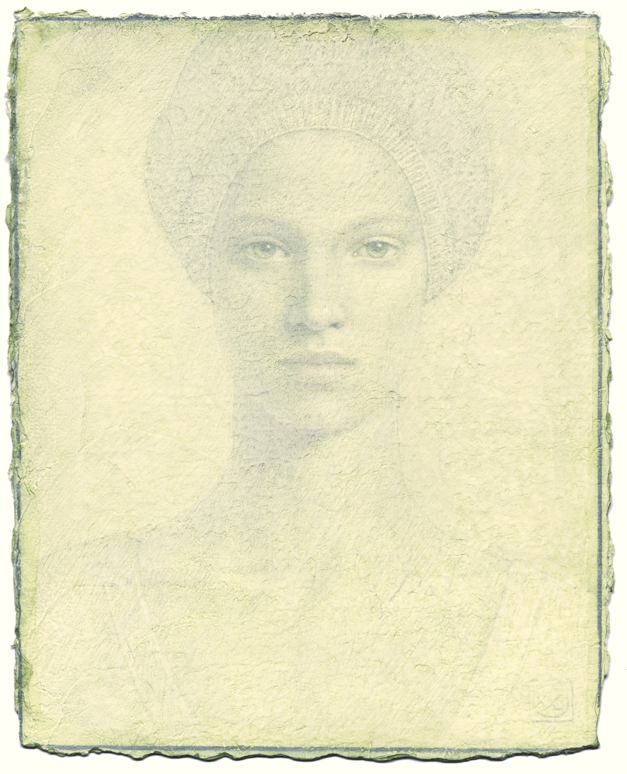 Victor Koulbak, silverpoint (Image courtesy of the artist)