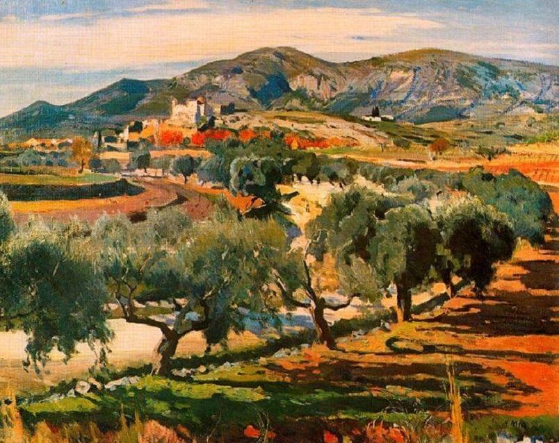 Joaquim Mir i Trinxet (or Joaquin Mir, 1873-1940): Canyelles
