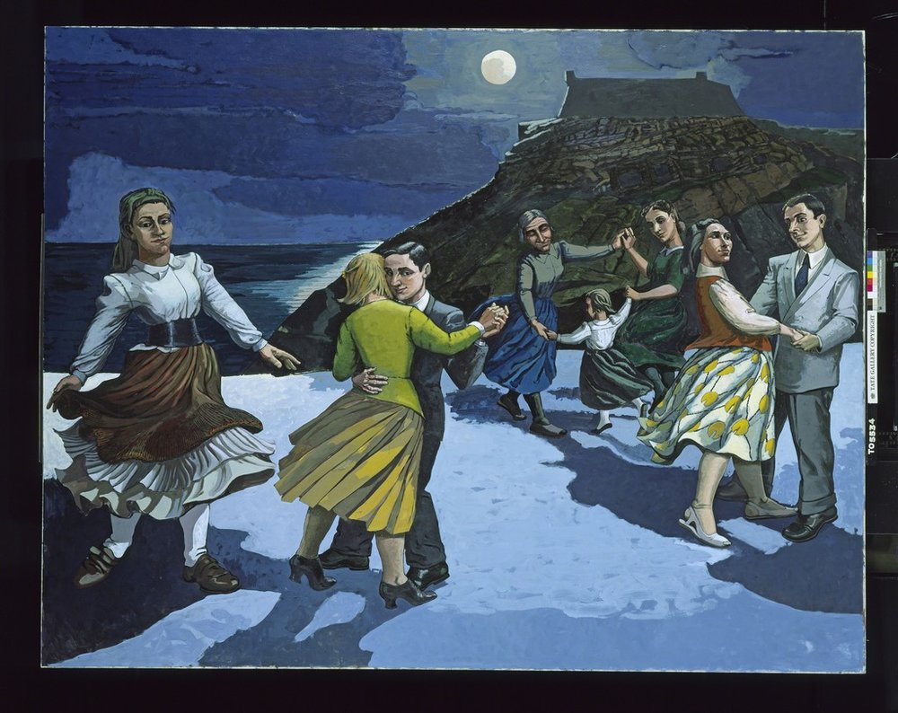 The Dance, oil, Paula Rego, 1986, (Image courtesy of the Tate)