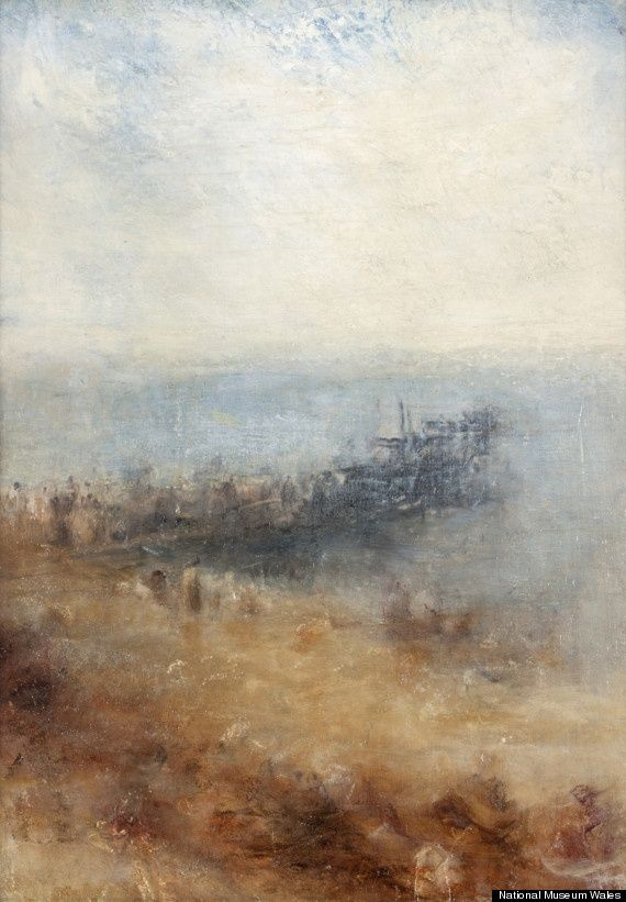 Jospeh Mallord William Turner Margate Jetty, National Museum of Wales