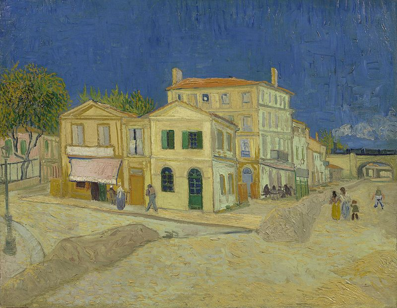 The Yellow House, 1888, oil, Vincent van Gogh, (Image courtesy of the Van Gogh Museum, Amerstdam)