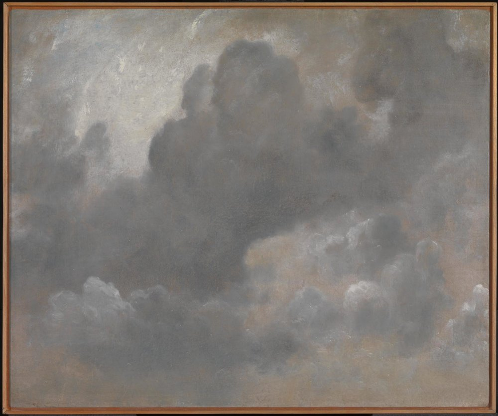 John Constable. Cloud Study. 1822 (Image courtesy of the Tate)