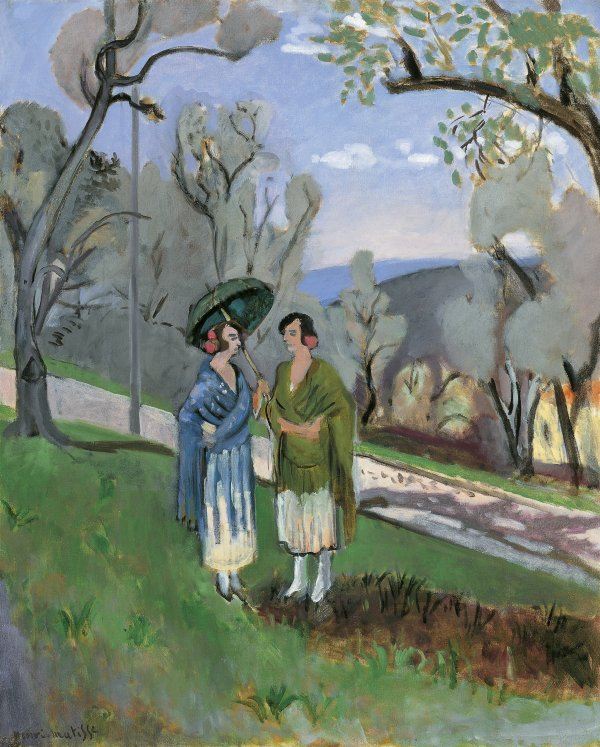 Conversation under the Olive Trees, H Matisse,   1921 (Image courtesy of Carmen Thyssen-Bornemisza Collection on loan at the Museo Nacional Thyssen-Bornemisza)