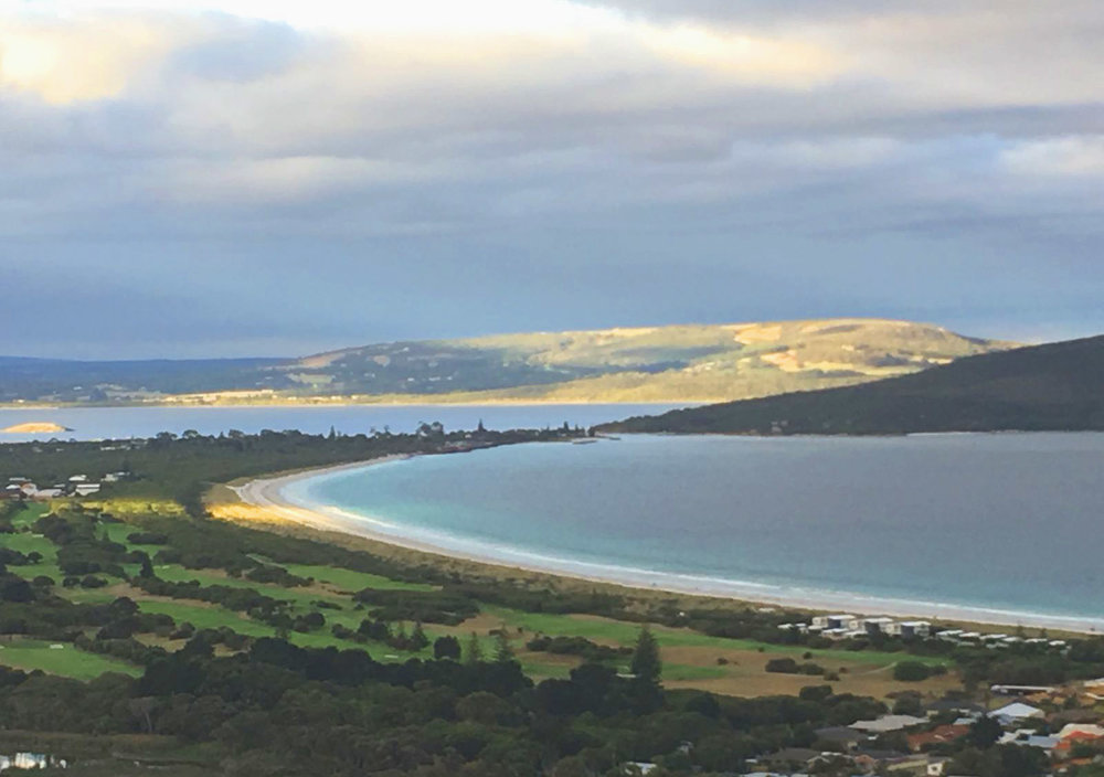 Middleton Beach, Albany, at sunset, Western Australia, (photography J. Cook)