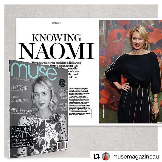 Read the latest @musemagazineau to read my article about holiday wellbeing and how to get the most out of the holidays and this upcoming holiday season!  #Repost @musemagazineau ・・・ New muse for featuring @naomiwatts for your weekend! The weather's not looking great, so it's the perfect reason to stay in and read our Escape issue. We hope this issue provokes reflection and pushes you to think about your goals and aspirations for the new year #musemagazinau #musings