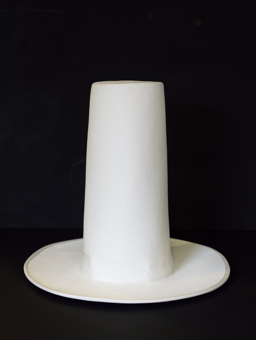 Hatt,  sculpture, 2012, h 35 cm (made by hat maker Sara Wikholm/Hats&Art by Sane Hatter)