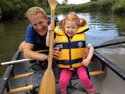 Katy had her first kayak lesson