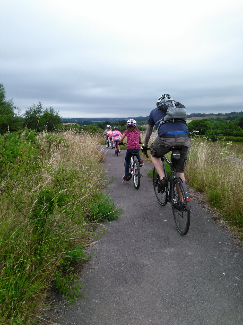 A cycling adventure with the Stone family