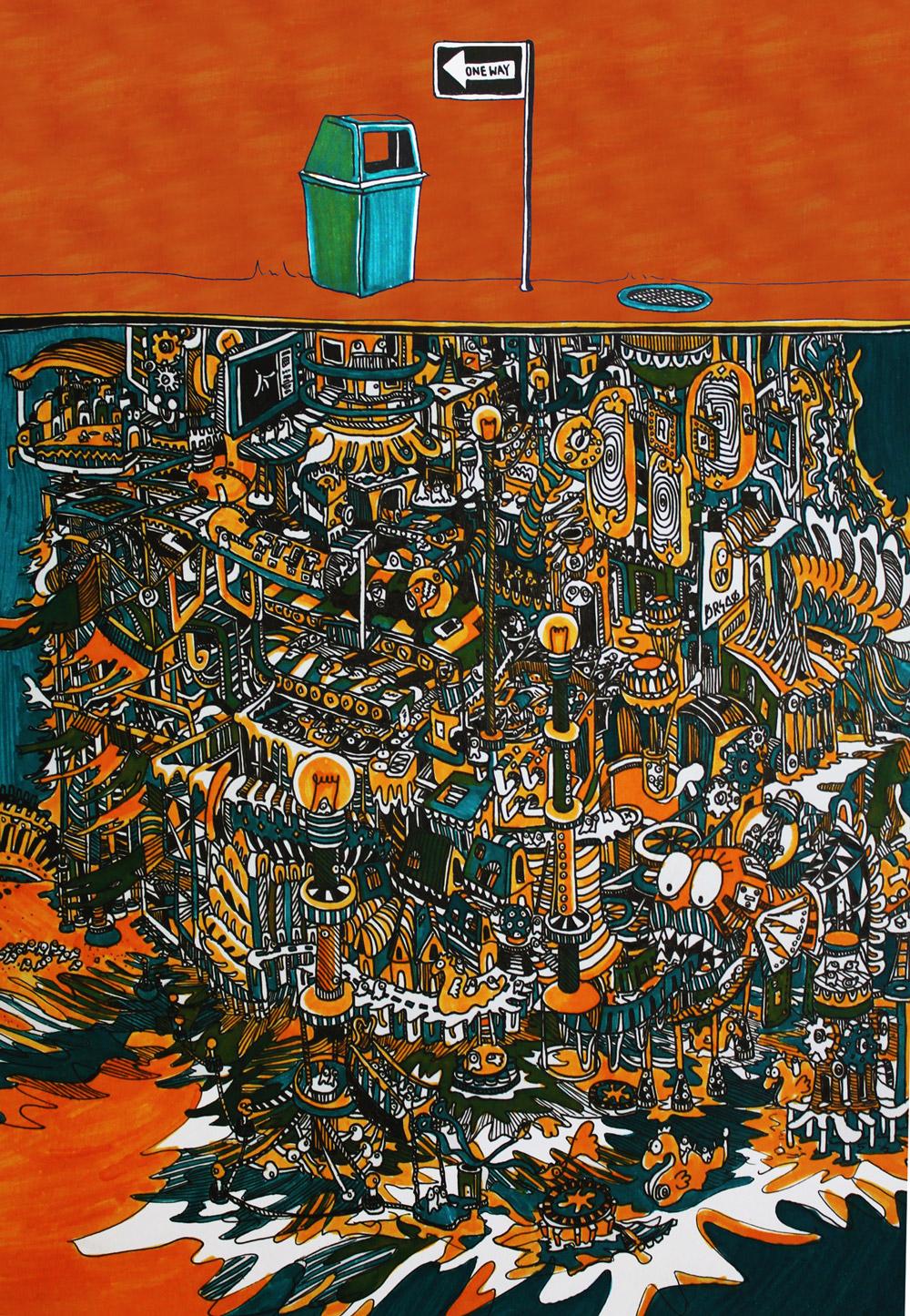 IMAGE CREDIT:Trash Land by Jia Lee (2013) [ www.artjelly.com/portfolio/trash-land/ ]