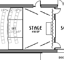 Stage Floorplan (with dimensions)