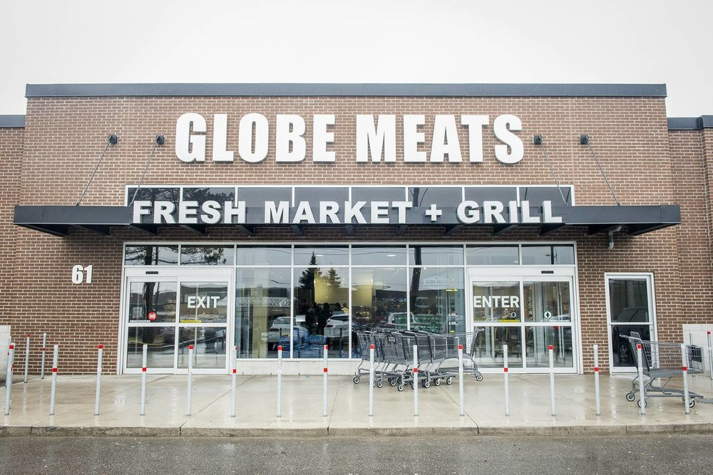GLOBE MEATS FRESH MARKET & GRILL ~ BUTCHER SHOP, RESTAURANT, CATERING