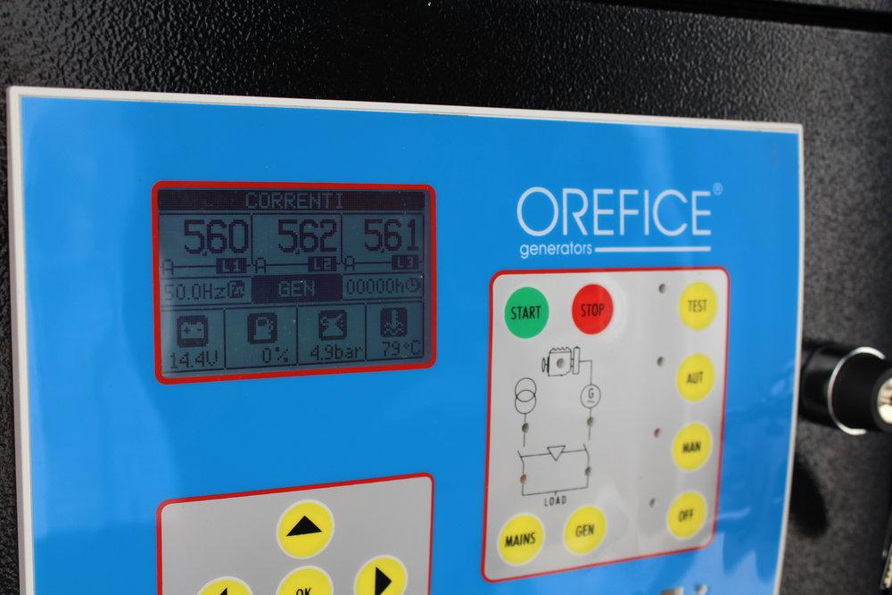veo control panel
