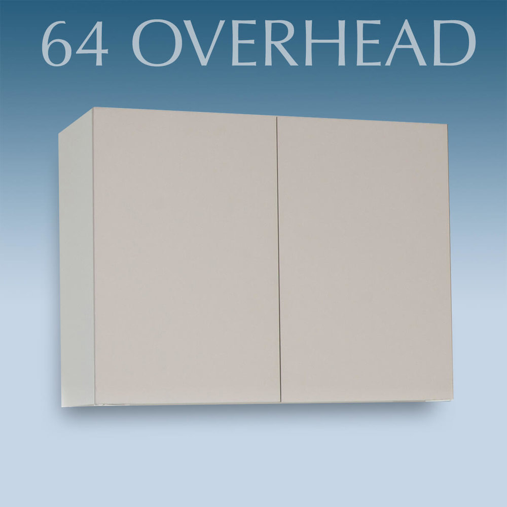 64 OVERHEAD CABINET