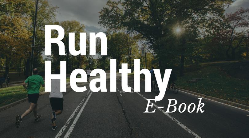 Running, run healthy, free guide, free e-book, PDF download, PDF