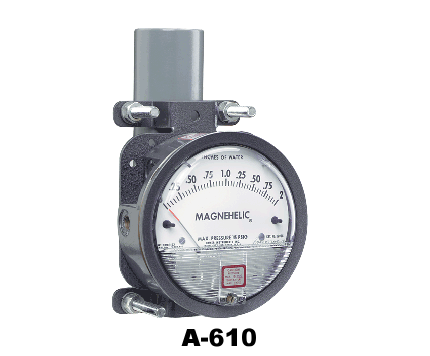 A-610 MAGNEHELIC