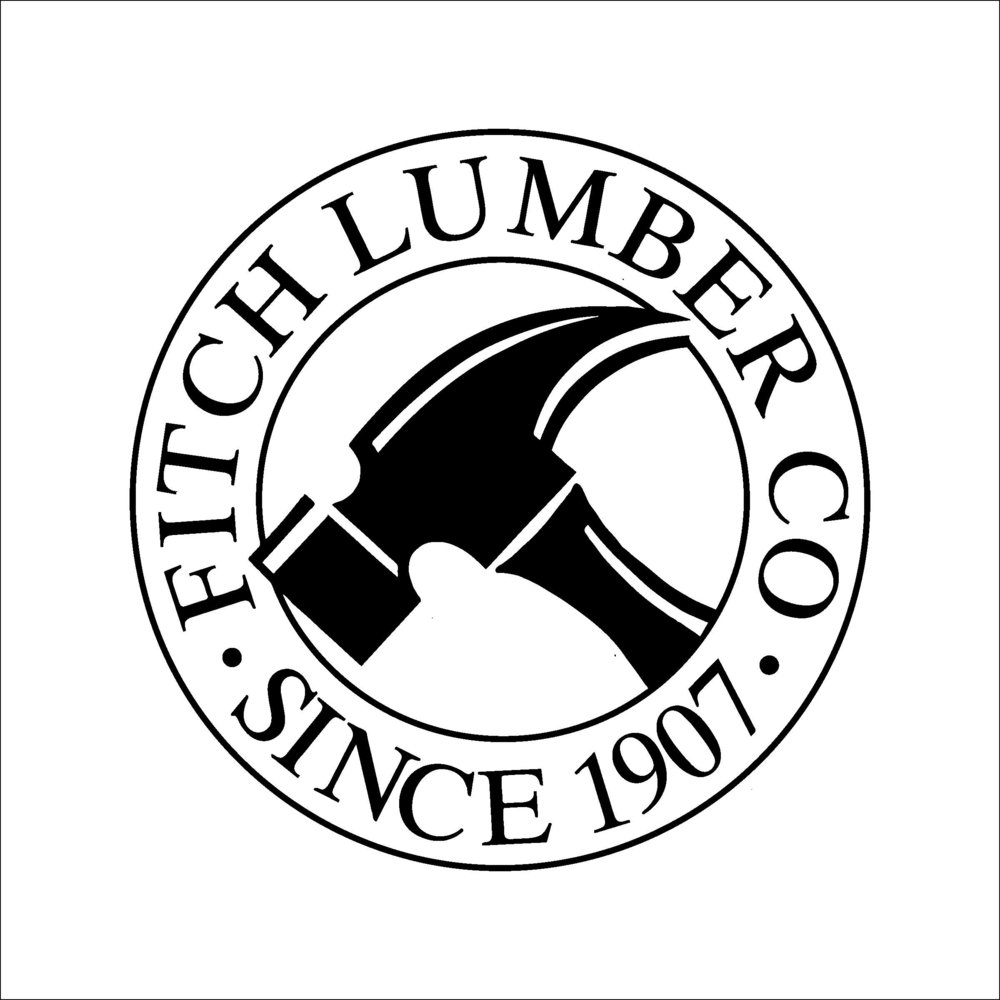 Thanks to our friends at Fitch Lumber & Hardware for their very generous in-kind donation!
