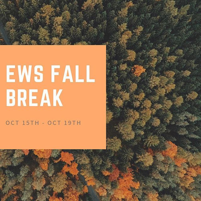 Happy Fall Break EWS!! See you next week! 🍁🍂 #EmersonWaldorf #EWS #WaldorfEducation #FallBreak