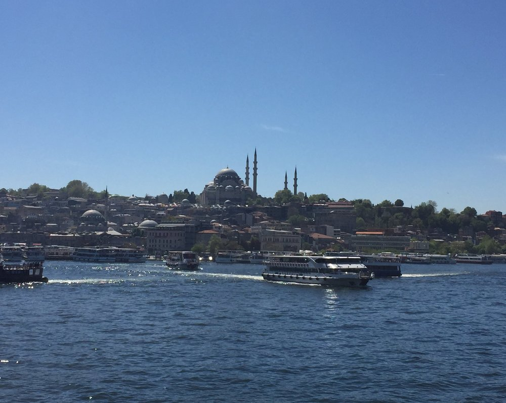 The Blue Mosque and the Bosphorus