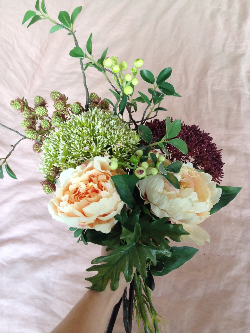 Fake it till you make it with abigail aherns top tips on faux fake it till you make it with abigail aherns top tips on faux flower styling gold is a neutral izmirmasajfo