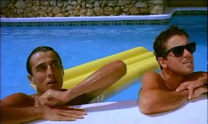 Wham's Club Tropicana video was filmed at Pikes. We had better inflatables ;-)
