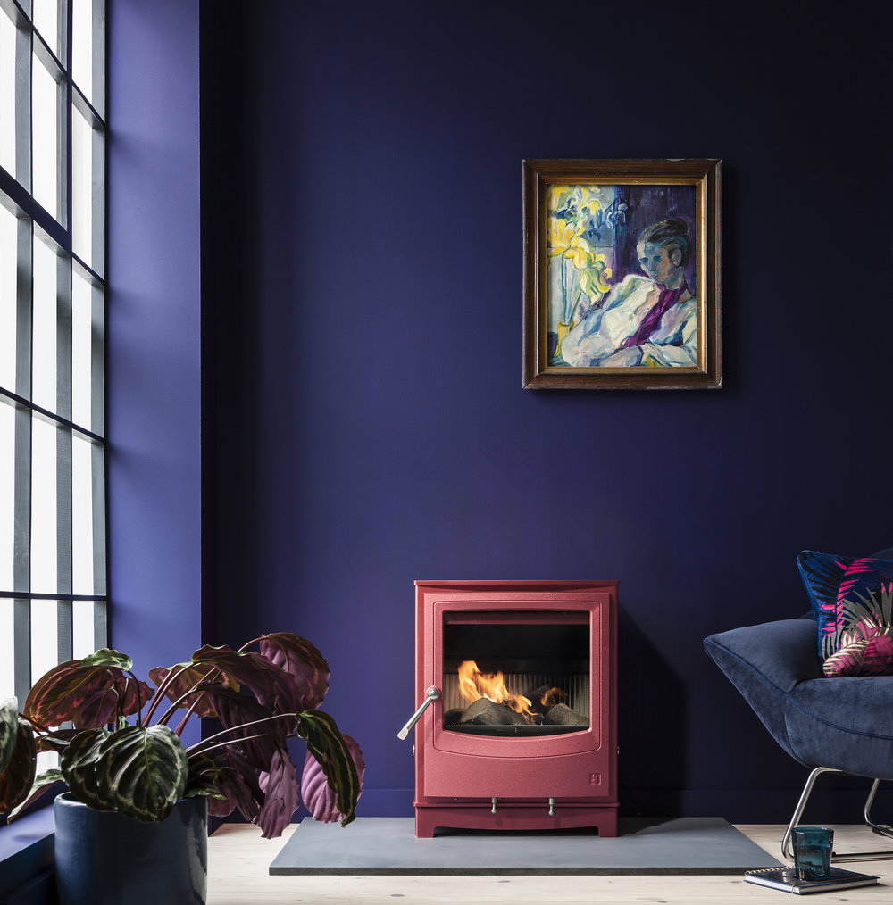 The  Ecodesign Ready Farringdon stove in Spice