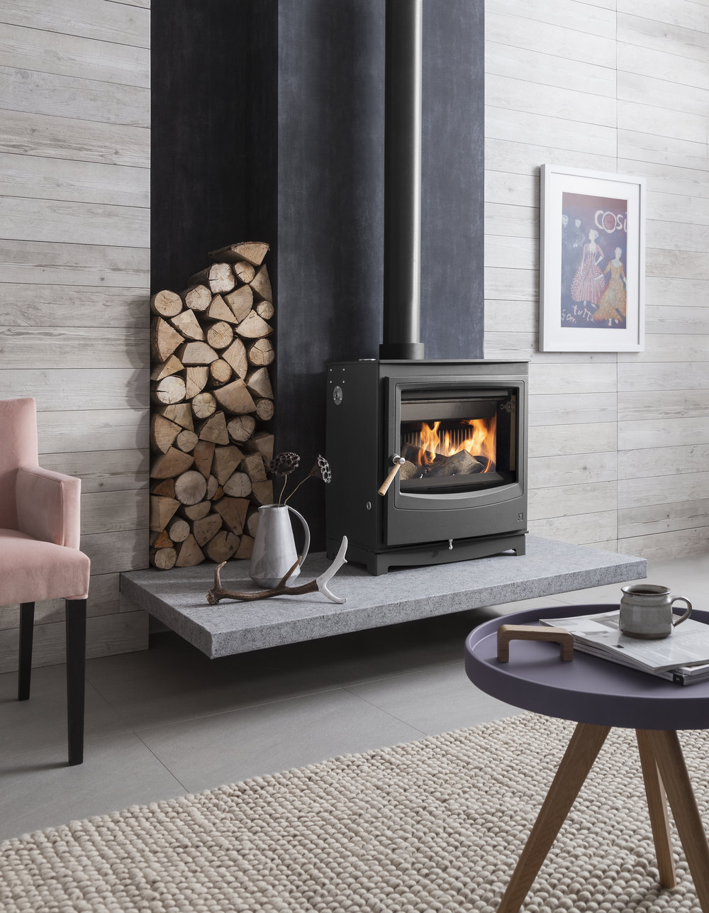 The  Farringdon Catalyst Eco Stove