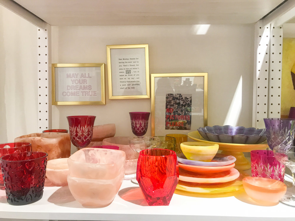 The colourful resin bowls that got away