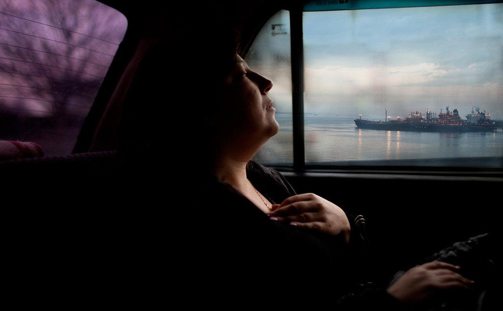 série exotica, erotica, etc.  Novorossiysk Madonna - 2011  photographie numérique  82 x 123 cm / éd.5
