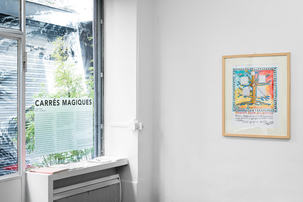 Carrés Magiques - Jacques Villeglé 2017 © Grégory Copitet