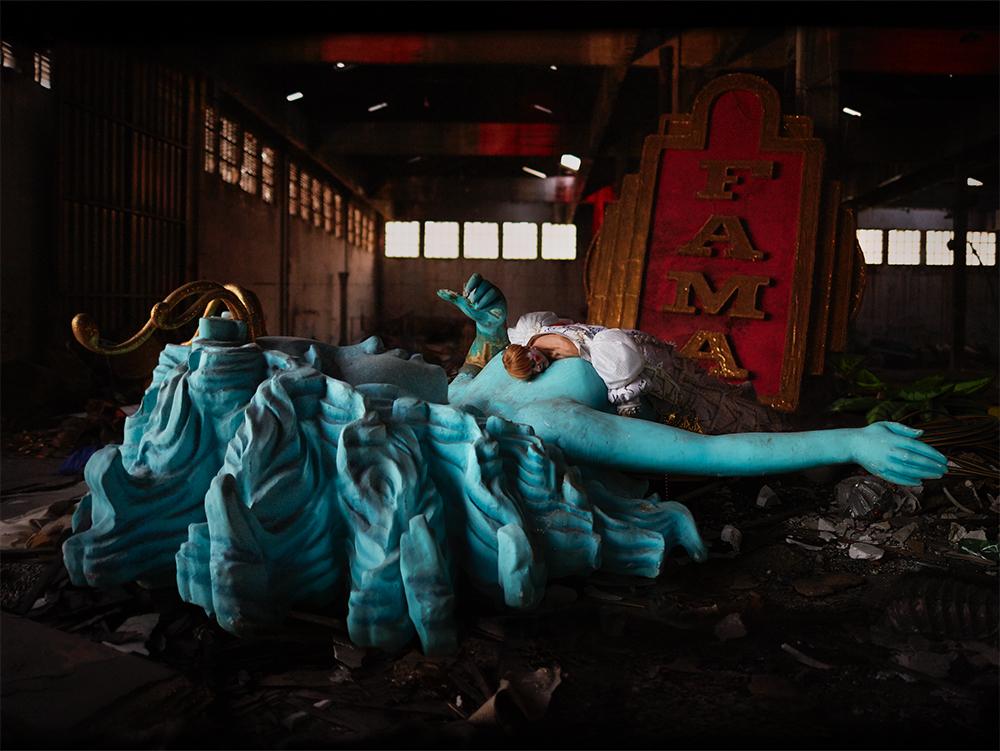 O ESCÂNDALO DA MORTE (Le scandale de la mort) - 2016 photographie numérique 94 x 121,4 cm / éd.5