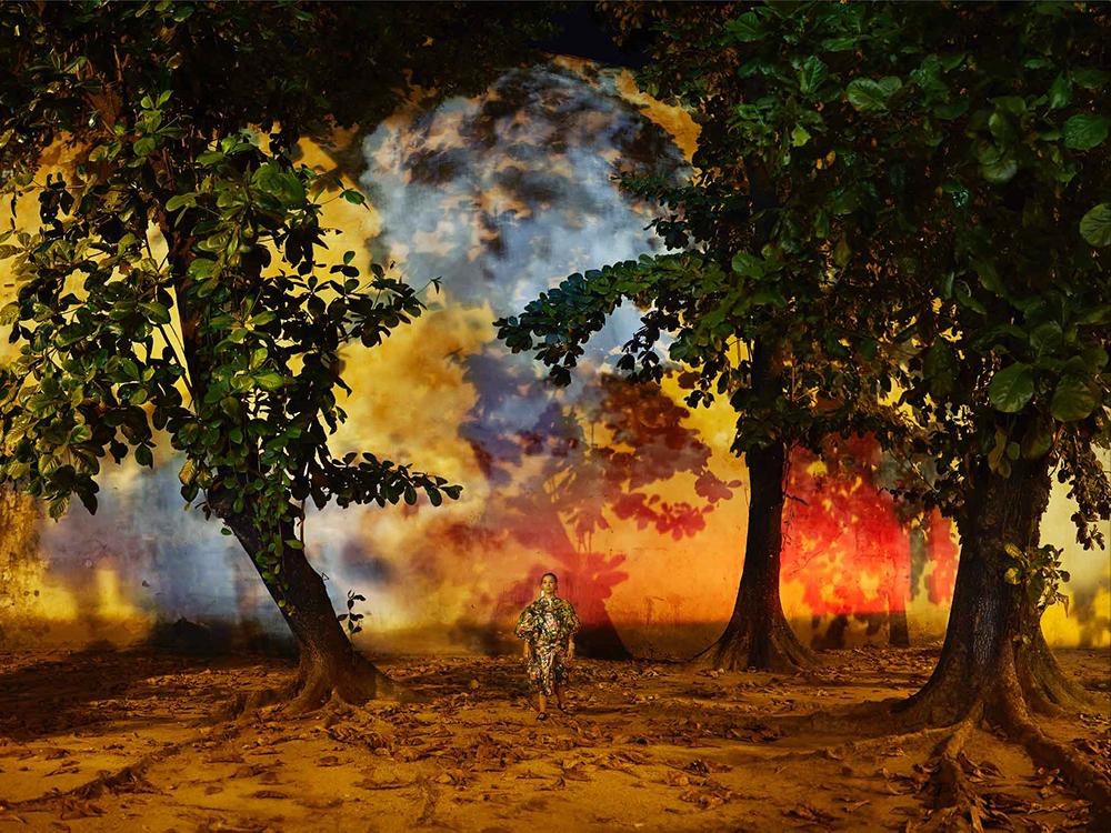 APENAS SONHEI COM O MUNDO, MAS JAMAIS O VI (J'ai seulement rêvé du monde, je ne l'ai jamais vu) - 2016 photographie numérique 94 x 121,4 cm / éd.5