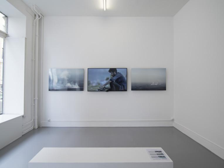 Rien que de la terre et de plus en plus sèche, Galerie Laurence Bernard, 2017
