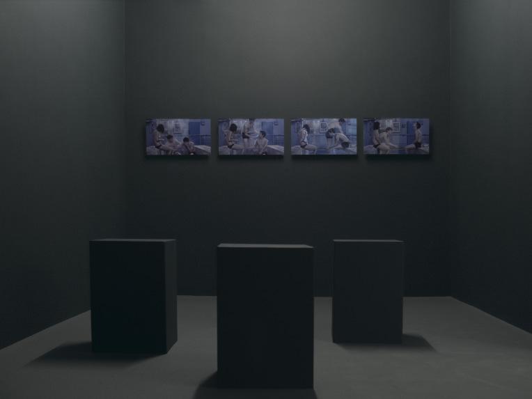 Jusqu'aux régions qui gisent au-delà de la mer, galerie Laurence Bernard, 2017