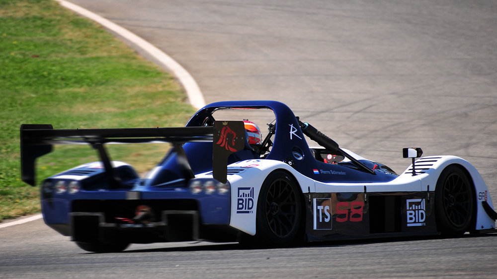 BidFX branded Radical takes to the track