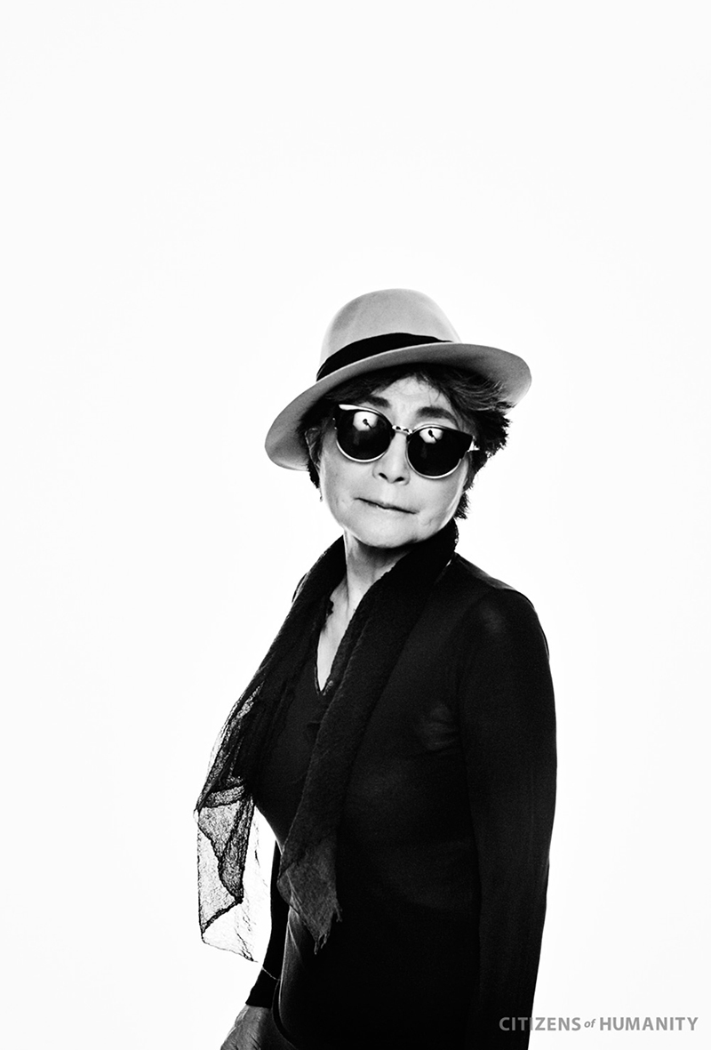 YOKO ONO for HUMANITY by CITIZENS OF HUMANITY