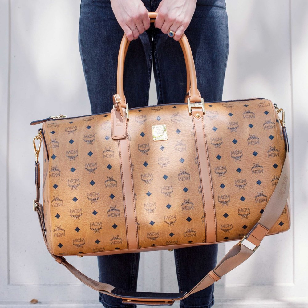 MCM bag | seen on catchys.com