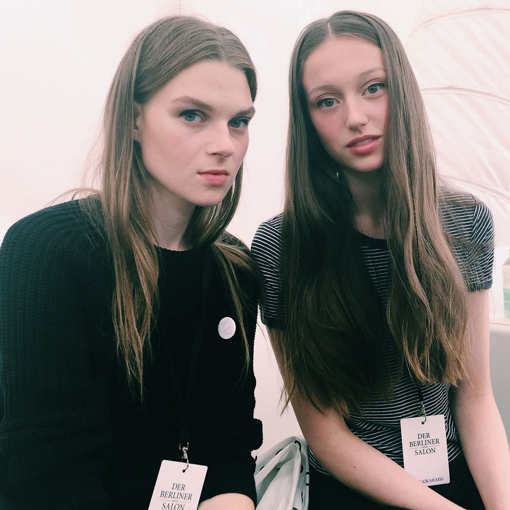 BACKSTAGE AT MALAIKA RAISS