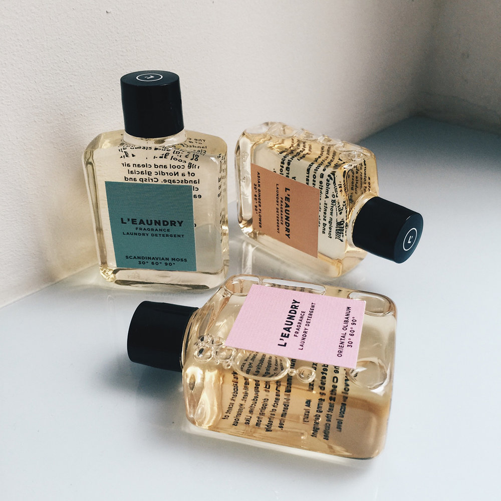 Laundry Fragrance Detergent Miniatures