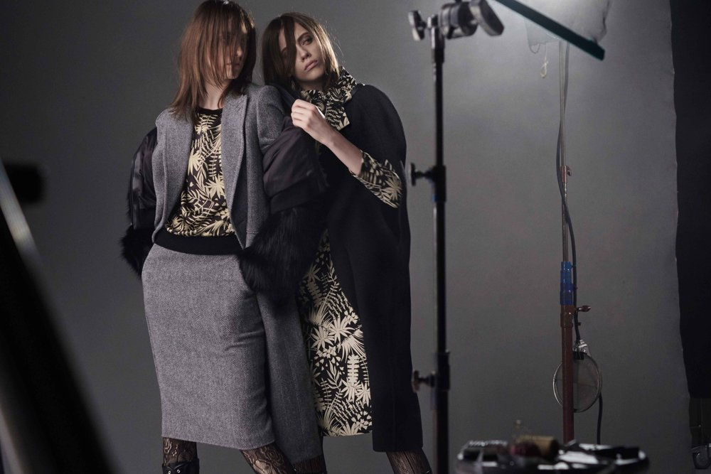 UNIQLO x CARINE ROITFELD by Steven Meisel