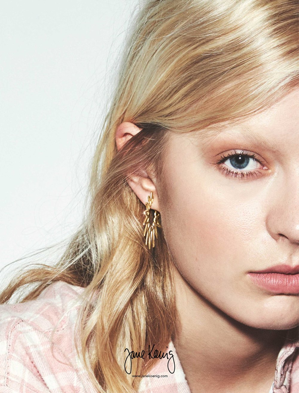 Sun Earrings from the new collection by Jane Kønig