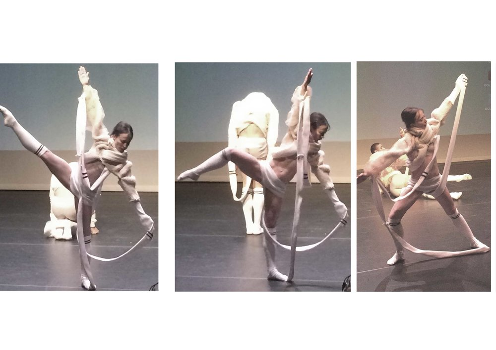 Anna Zwick created the costumes for the dancers of the Michael Clark Project.