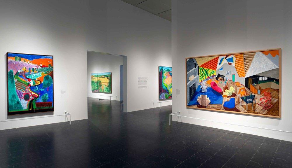 David Hockney at The Met, 2017 | Gallery 6 | Assembled Views © The Metropolitan Museum of Art