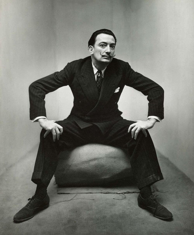 Salvador Dalí, New York, 1947 © The Irving Penn Foundation