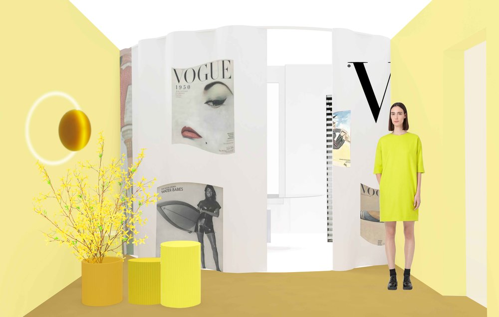 Life in Vogue  by SABINE MARCELIS