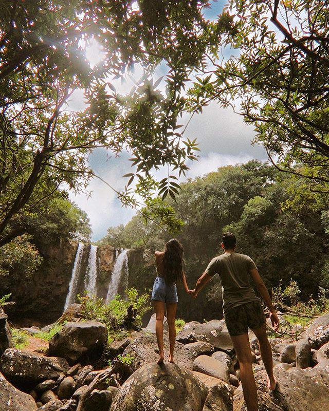Did you know Mauritius was this green? 🌿 ⠀⠀⠀⠀⠀⠀⠀⠀⠀ Tired of planning vacations? Our travel bloggers have planned your next one for you! Go check it out in the GoHype app! Link in bio 👉 @gohypetravel ⠀⠀⠀⠀⠀⠀⠀⠀⠀ Photo courtesy of @itstheislandlifestyle #gohypetravel #mauritius #instatravelling #instavacation #traveltheworld #travelingram #traveldiaries #ilemaurice #mauritiusexplored