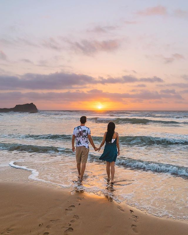 """It's cloudy and rainy in London and we are definitely missing these dreamy sunsets in Morocco 😍"" - @doublebackpackers ⠀⠀⠀⠀⠀⠀⠀⠀⠀ Tired of planning vacations? Our travel bloggers have planned your next one for you. Link in bio 👉 @gohypetravel ⠀⠀⠀⠀⠀⠀⠀⠀⠀ Photo courtesy of @doublebackpackers #gohypetravel #oualidia #morocco #instavacation #maroc #moroccan #marocaine #marruecos #africanamazing"