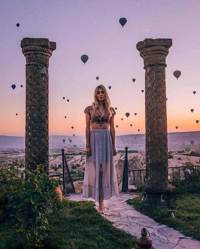 """Keep following your dreams and never let them go because one day they will come true ✨"" - @whats_up_beaches ⠀⠀⠀⠀⠀⠀⠀⠀⠀ Up to £25/$30 off your next vacation booking through GoHype, plus your vacation planned for you. Now available on the App Store. Link in bio 👉 @gohypetravel ⠀⠀⠀⠀⠀⠀⠀⠀⠀ Photo courtesy of @whats_up_beaches #gohypetravel #cappadocia #türkiye #turkiye #instagramturkey #turkinstagram #igturkey #kapadokya #goreme"