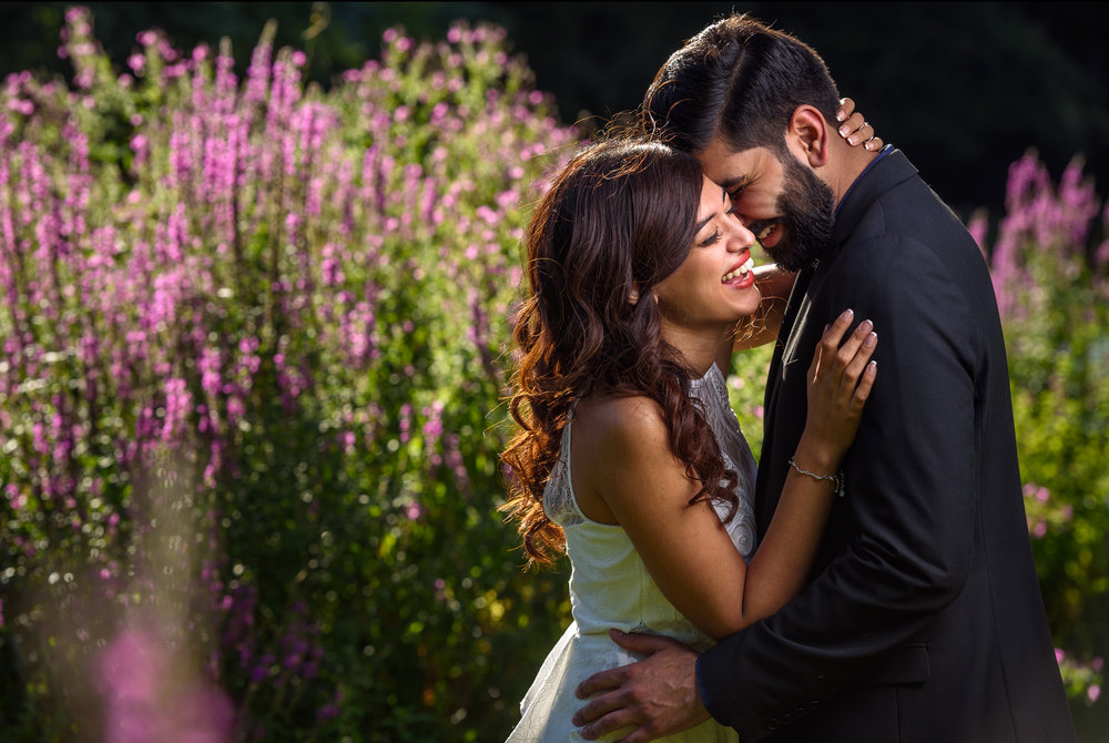 satnam photography indian wedding engagement pre wedding shoot london summer love