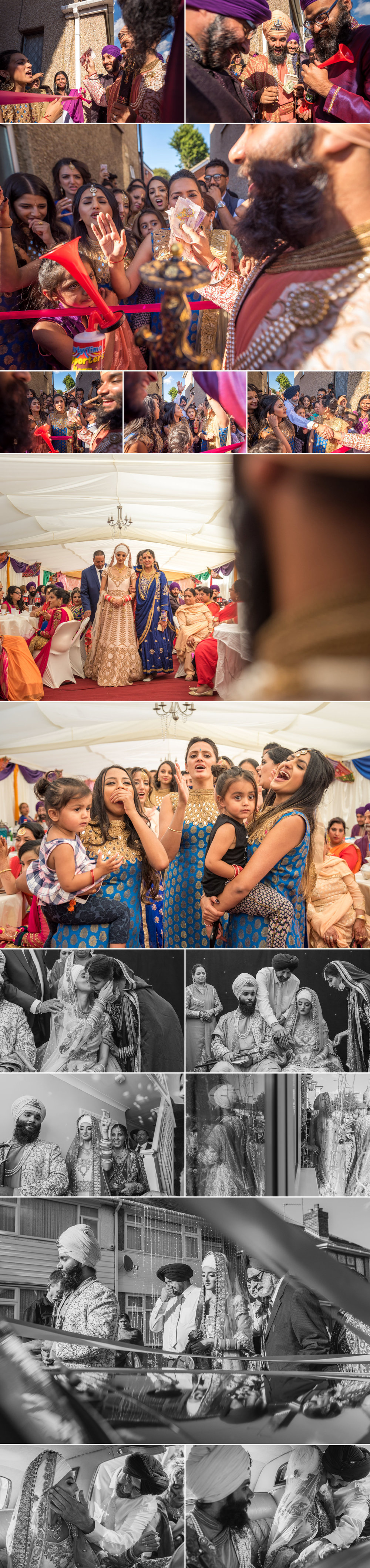 sikh wedding photography guru nanak sikh academy wedding springfield road 5